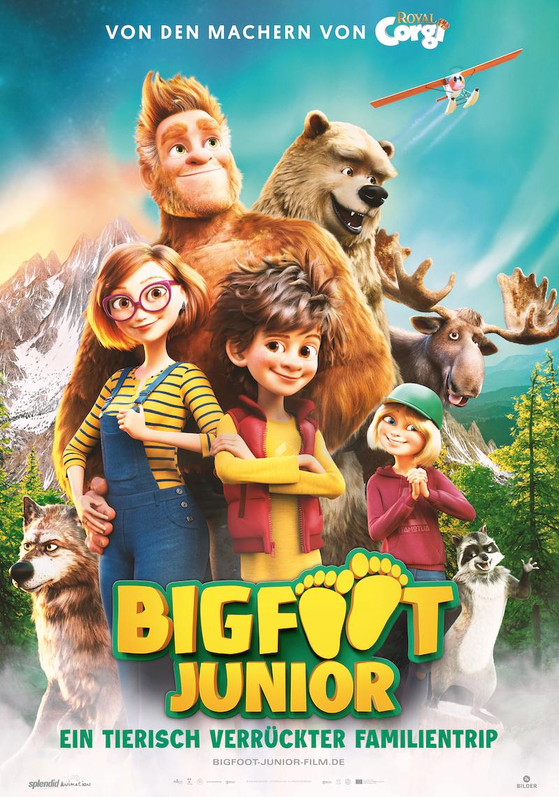 Bigfoot Junior: Ein tierisch verrückter Familientrip