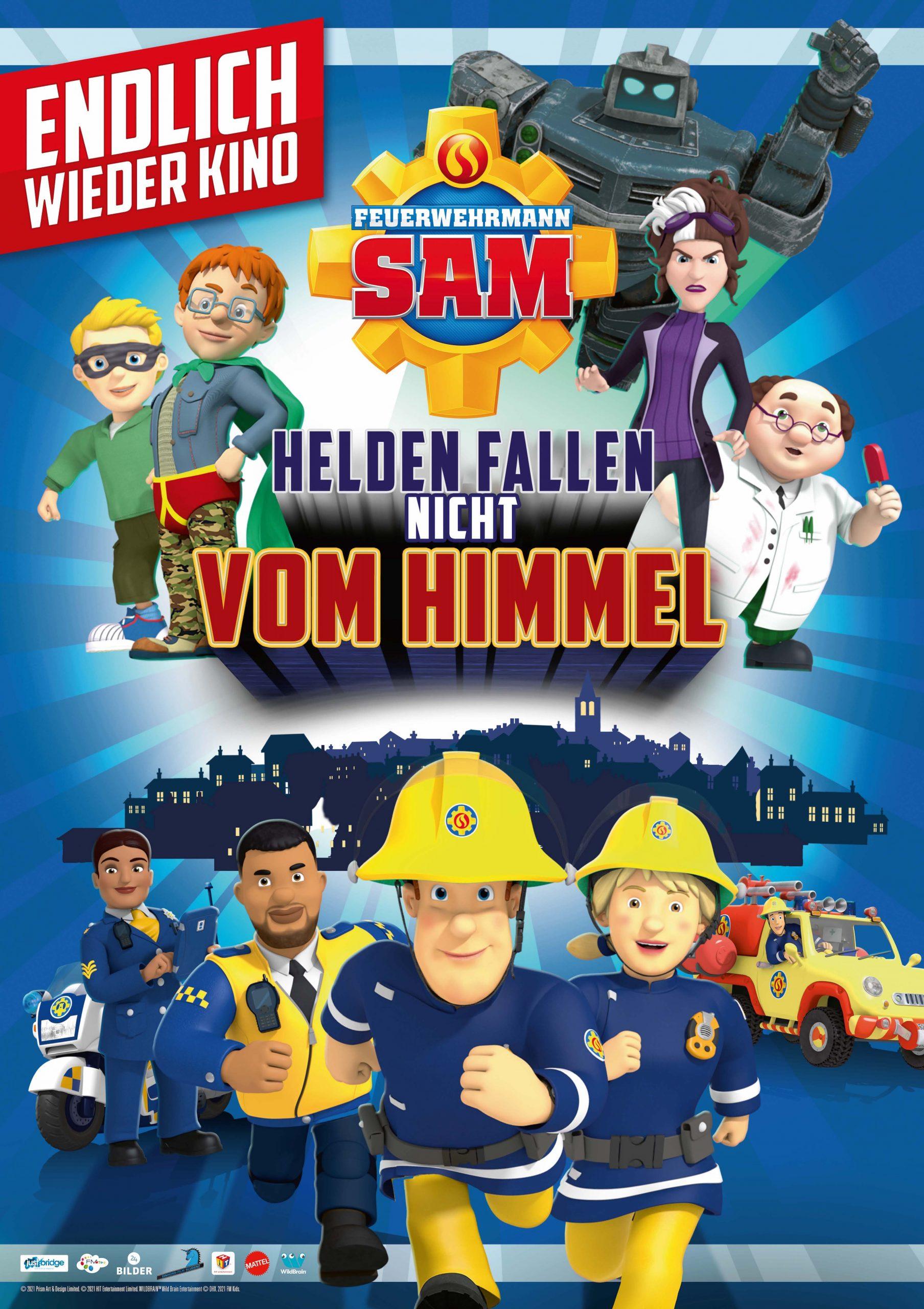 FEUERWEHR SAM – Helden fallen nicht vom Himmel