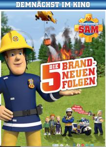 FEUERWEHR SAM – 5 Brandneue Abenteuer